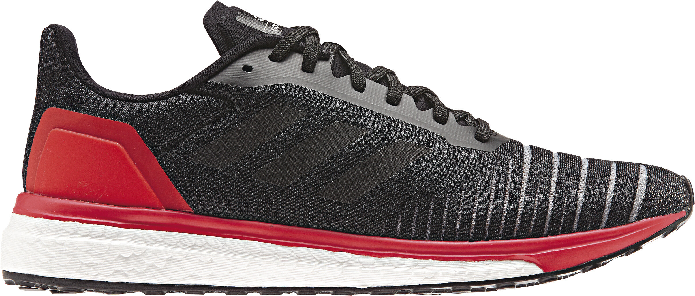 adidas SolarDrive Running Shoes Men red/black at Addnature